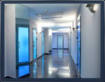 В клинике имеется 8 современных кабинетов